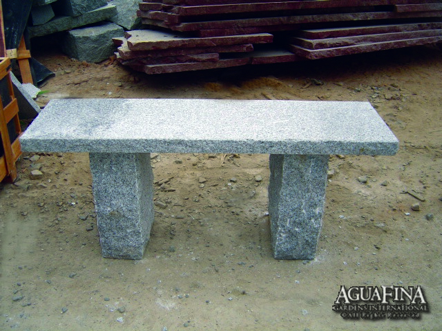 2 thick Granite Bench