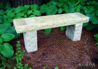 3.5 thick granite bench