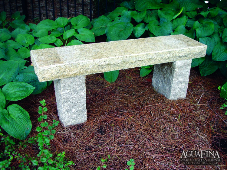 3.5 thick granite bench
