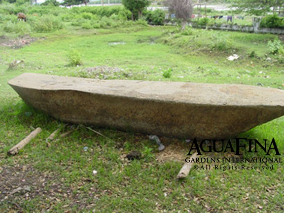Large Flat Basalt Stone