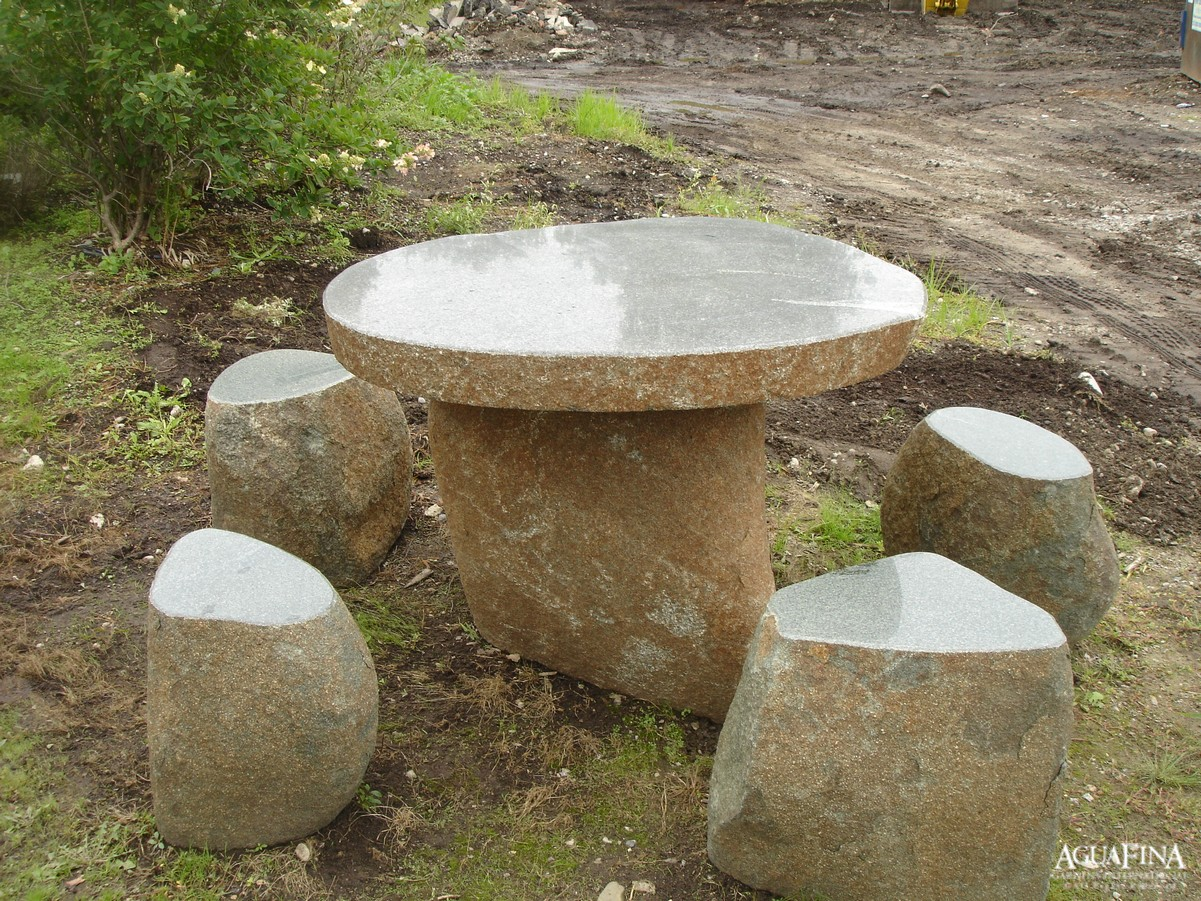 granite table-chairs