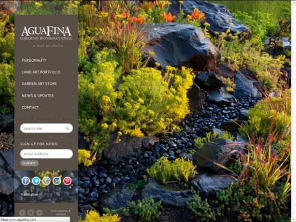 2013 New AguaFina Website